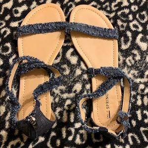 Denim Call It Spring sandals